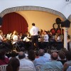 Primera actuación de la Banda Académica de las Escuelas de Música