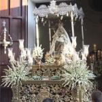 Hoy, procesión de la Virgen del Rosario en Algeciras