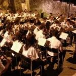 Éxito del concierto de la Banda Sinfónica Julián Cerdán en Las Piletas