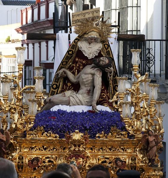 Paso de María Santísima de las Angustias