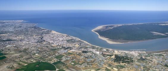 Desembocadura del Guadalquivir
