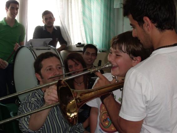 Concierto de Julián Cerdán en el CEIP Guadalquivir