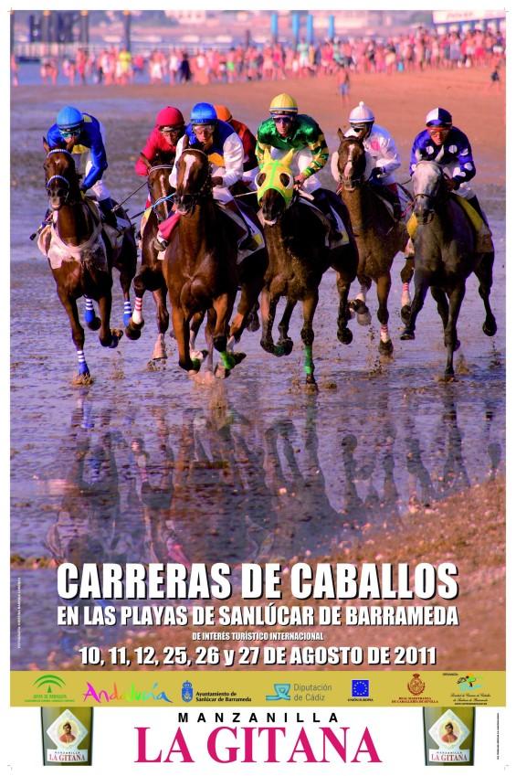 Cartel de las Carreras de Caballos 2011