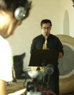 Juan Diego Palma, profesor de Saxofón