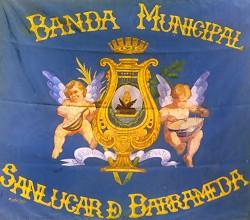 Bandera de la antigua Banda Municipal de Sanlúcar