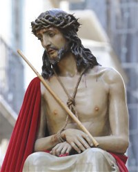 Santo Cristo Coronado de Espinas