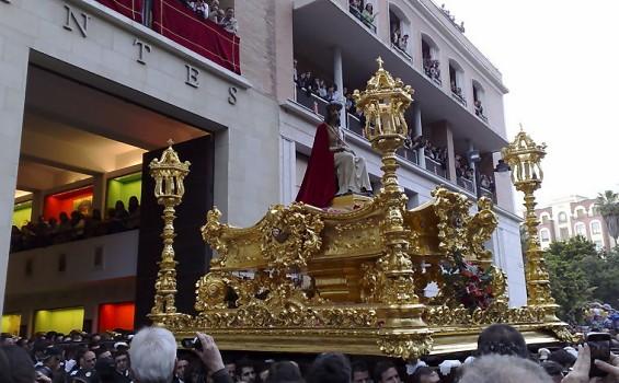 Trono del Santo Cristo Coronado de Espinas