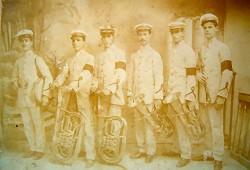 Antiguos músicos sanluqueños