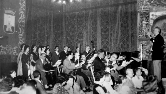 La antigua Orquesta de Sanlúcar