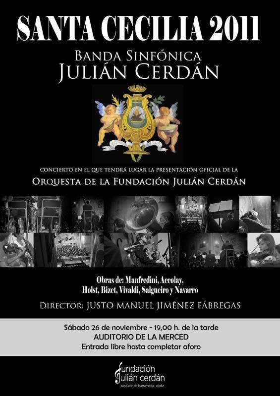 Cartel de Santa Cecilia 2011