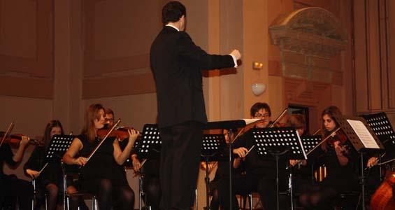 La Orquesta de la Fundación, en su primer concierto