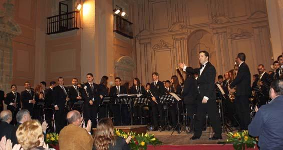 Brillante actuación de la Banda Sinfónica Julián Cerdán