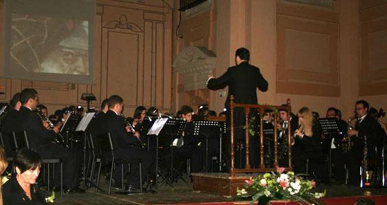 Intervención de la Banda Sinfónica Julián Cerdán