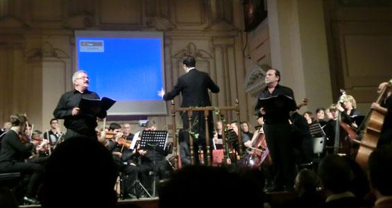 Intervención de la Orquesta y Coro de la Fundación Julián Cerdán